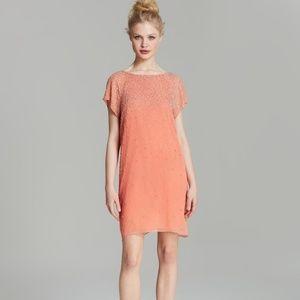 Alice + Olivia Philly Embelished Silk Dress sz 12